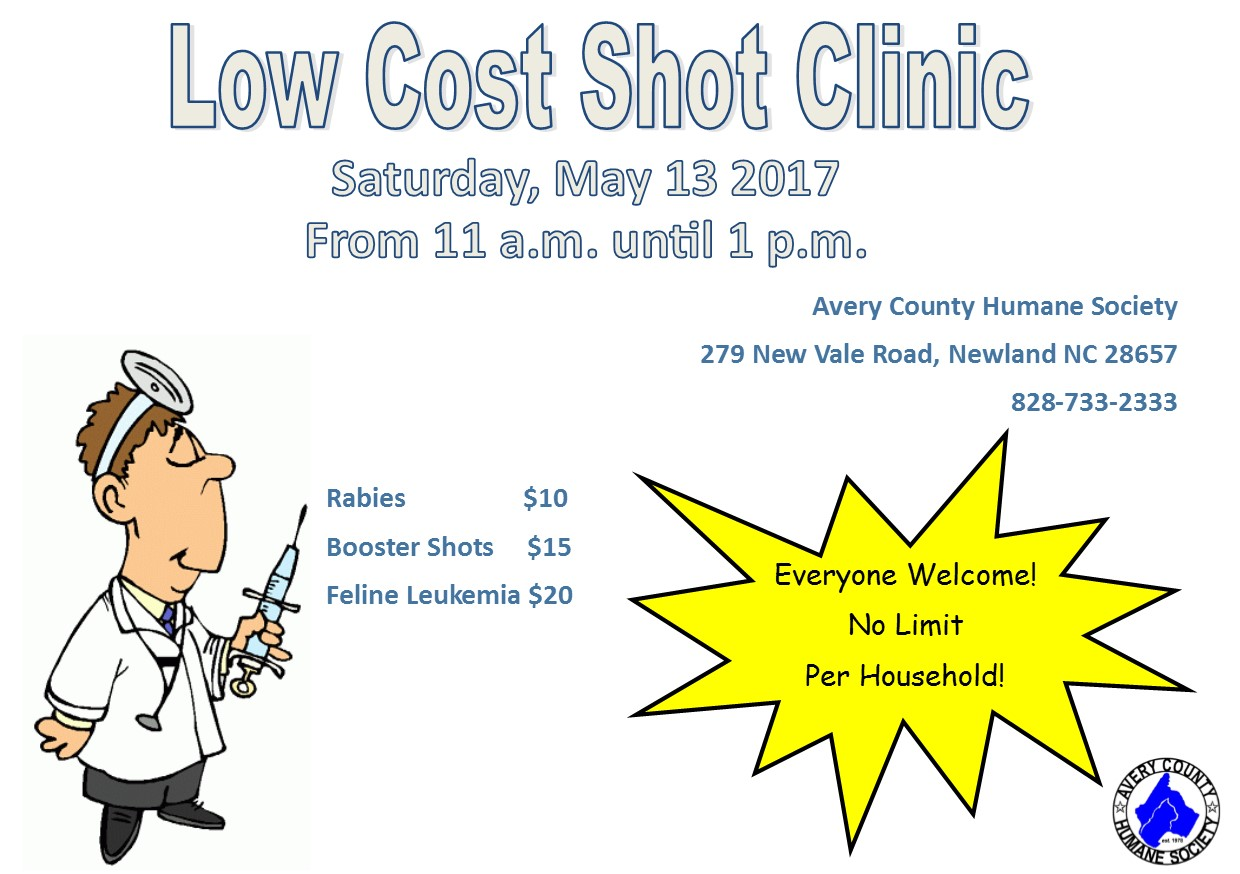 Low Cost Shot Clinic5_17